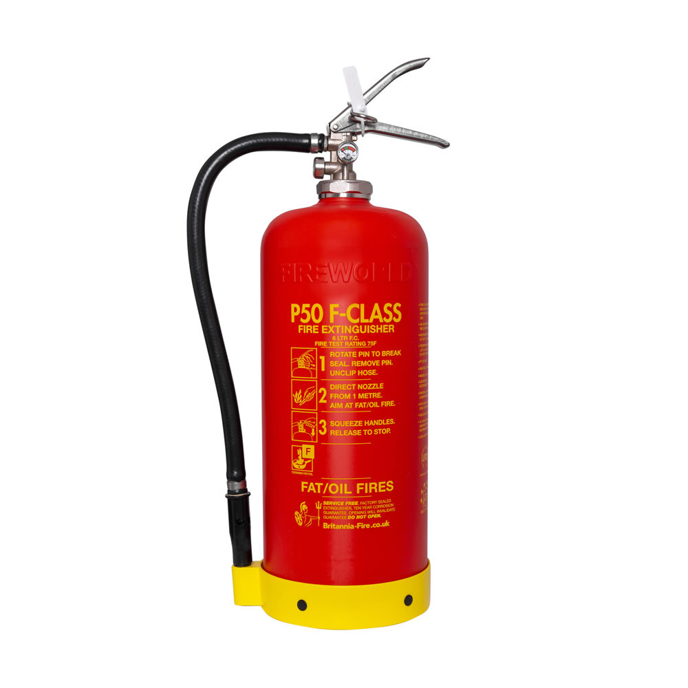 Image of the Service-Free 6ltr Wet Chemical Fire Extinguisher - Britannia P50