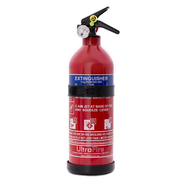 Image of the 1kg Economy Powder Fire Extinguisher - UltraFire