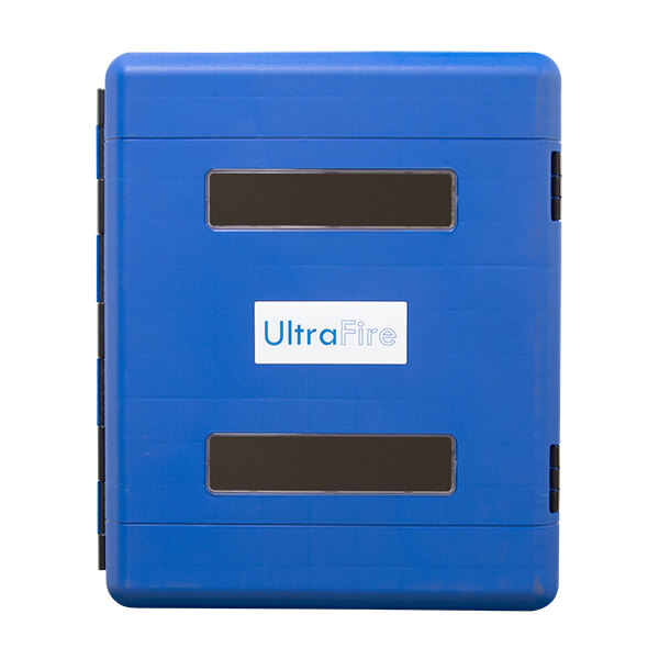 Image of the UltraFire Blue Weatherproof Personal Protective Equipment Cabinet - Large
