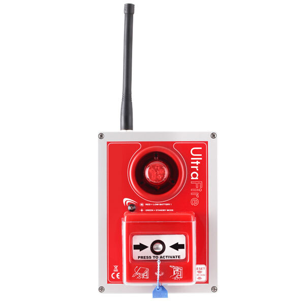 Image of the UltraFire Tough Guard Wireless Site Alarm - Call Point