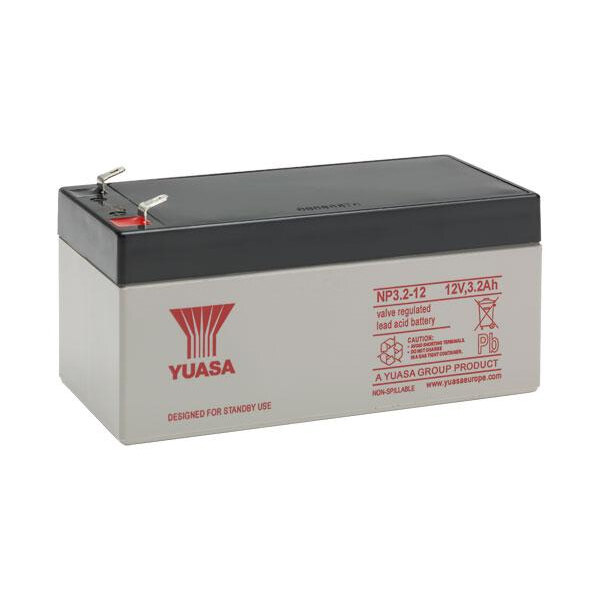 Image of the 24V Batteries for Fire Alarm Panels including XFP, CFP, Twinflex, Morley and Advanced