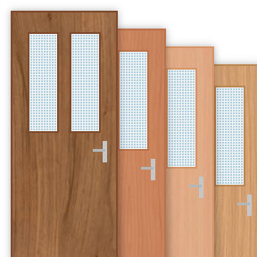 More info about 30 Minute Fire Door with 150x800mm / 150x800mm Panes