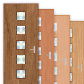 More info about 30 Minute Fire Door with 200x200mm Square Panes x 5