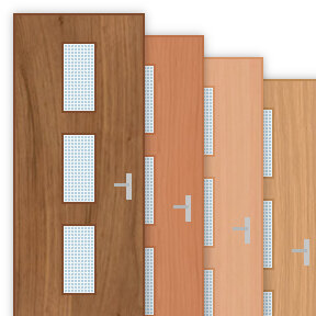 More info about 30 Minute Fire Door with 200x450mm Oblong Panes x 3