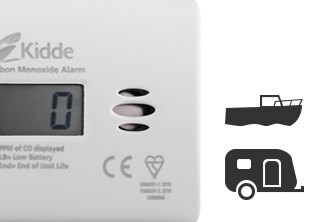Boat and Camping CO Detectors