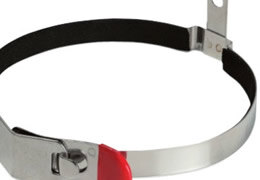 Wall Mounting and Transport Brackets for Fire Extinguishers