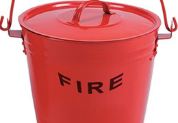 Fire Buckets and Spill Absorbents
