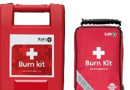 A Range Of St John Ambulance Burn Kits