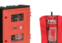 Fire Extinguisher Cabinets and Extinguisher Covers