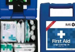 Catering First Aid kits with HSE recommended contents