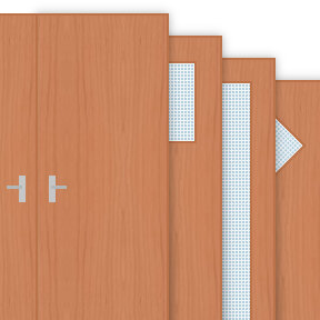 More info about Cherry Veneer 30 Minute Fire Doors (FD30)