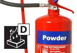 Dry Chemical Powder Metal Fire Extinguisher