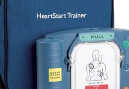 Defibrillator Trainer Units and Accessories