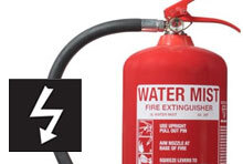 Electrically Safe Fire Extinguishers