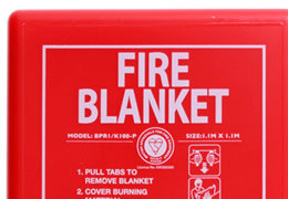 Fire Blanket in Soft Pouch