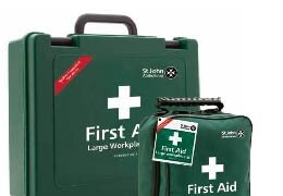 First Aid Kits with HSE recommended contents