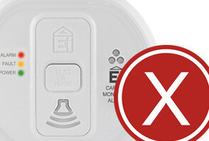 Difference between false smoke alarms and false carbon monoxyde alarms