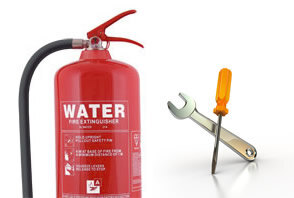 Installation of Fire Extinguishers