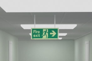 Ensuring your premises has appropriate fire escape route signs, fire exit signs and fire safety info signs is essential
