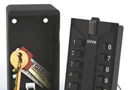 Protect between 1 and 96 keys with our range of key safes