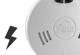 Kidde Mains Powered Smoke and Heat Detectors