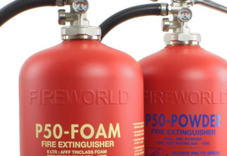 P50 service-free extinguishers are a cost-saving alternative to traditional extinguishers