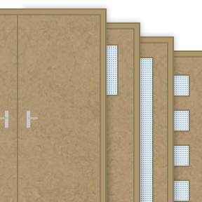 More info about Plain (Not Primed) 30 Minute Fire Door Sets (FD30)