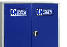 Personal Protective Equipment Storage Cabinets  sc 1 st  Safelincs & Storage Cabinets