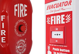 Site Alarms such as Fire Alarm Bells and Sounders