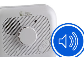 smoke detector beeps 3 times then stops
