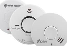 Smoke Alarms, Heat Alarms and Radio-linked Smoke Alarms with Manual Break Points