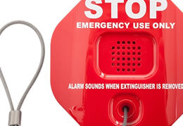 Fire Extinguisher Theft-Stoppers