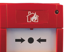 Wireless Manual Call Points allow building occupants to activate the Fire Alarm System without waiting for the Detectors.